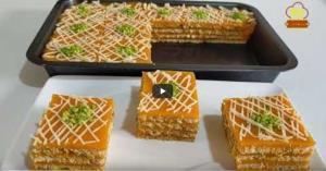 ایده تهیه یک نوع حلوا با هویج و بیسکوییت