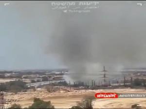 حمله موشکی مقاومت به یگان ۸۲۰۰ اسرائیل