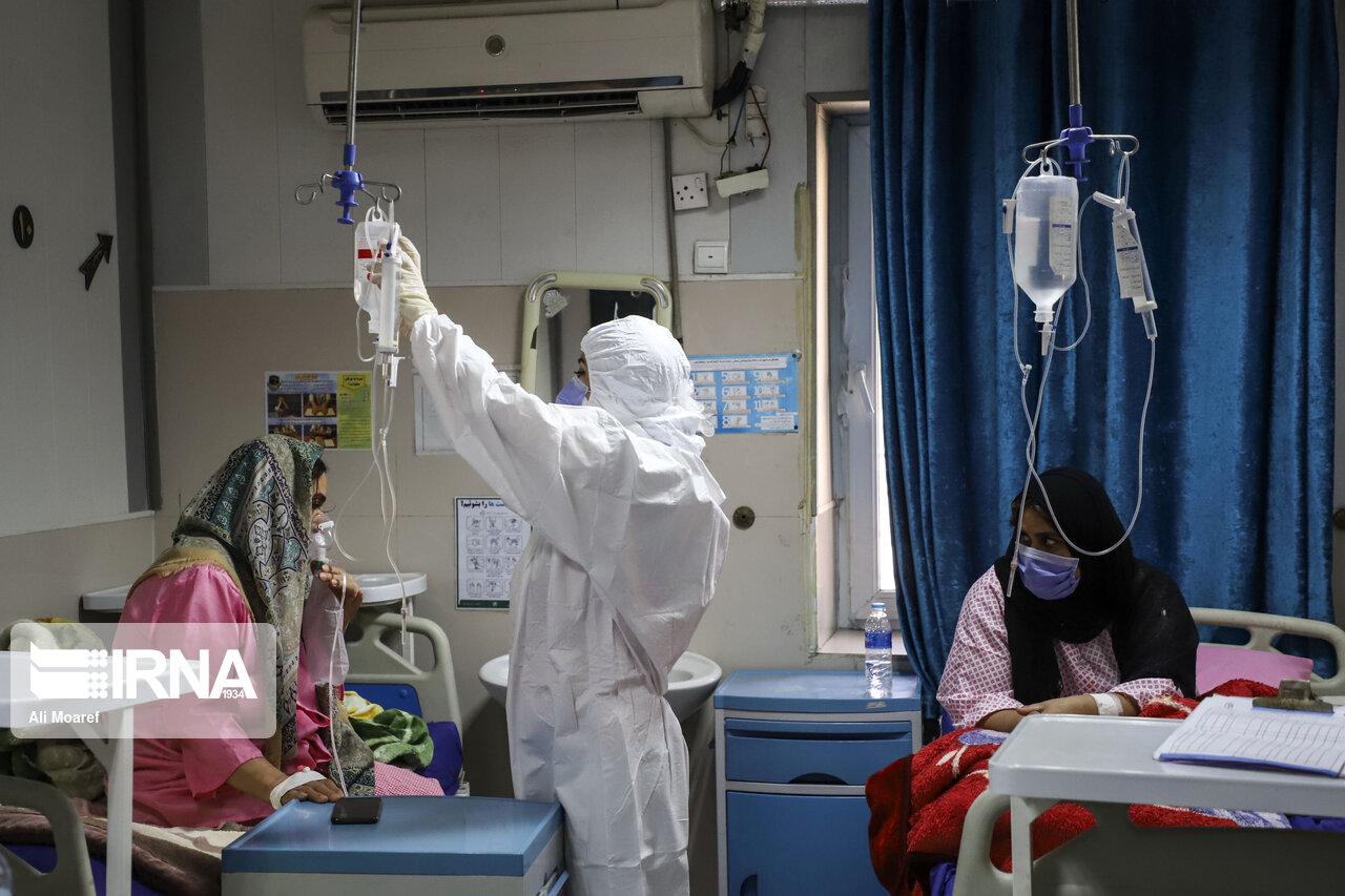 ۱۱۴ مبتلای کرونا در ایلام بستری هستند