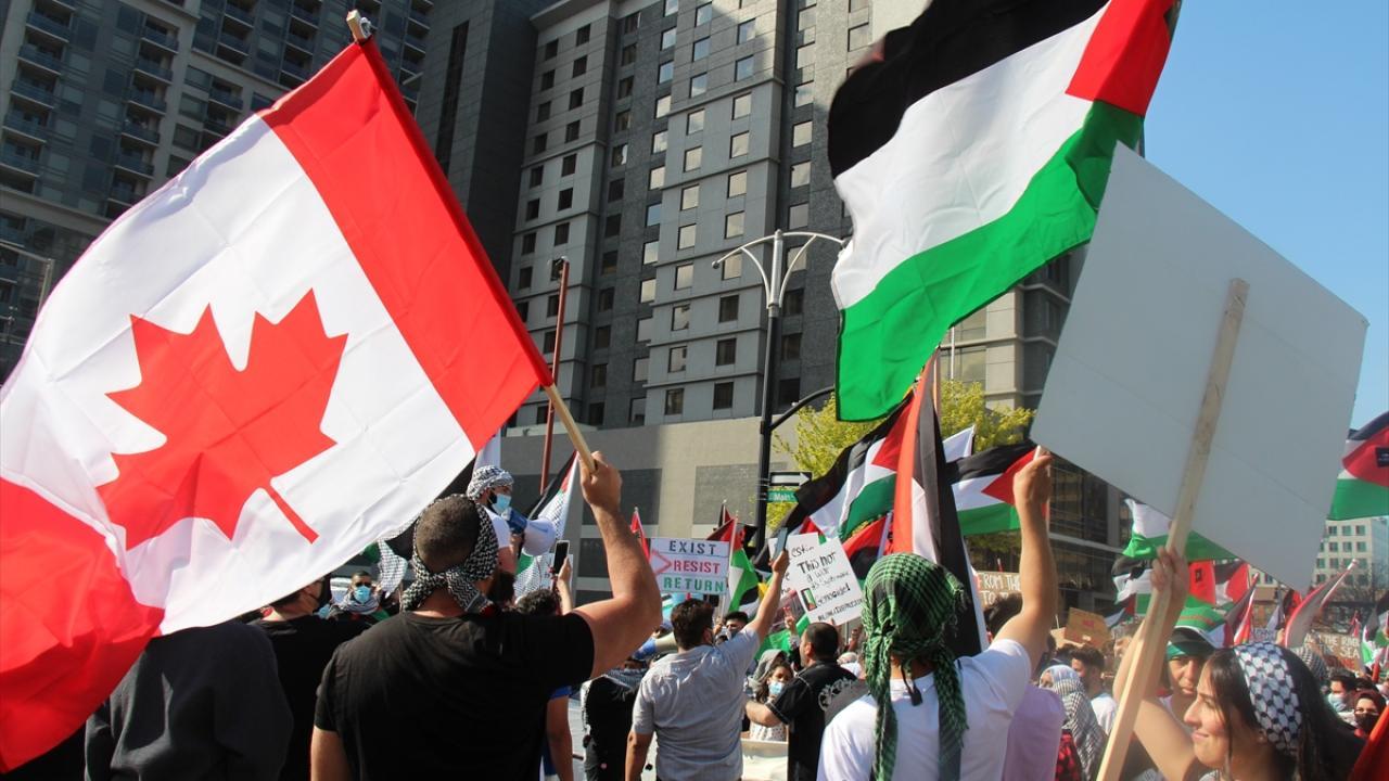 تظاهرات ضد صهیونیستی در کانادا