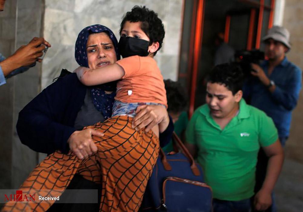 عکس/ آوارگان بی پناه غزه