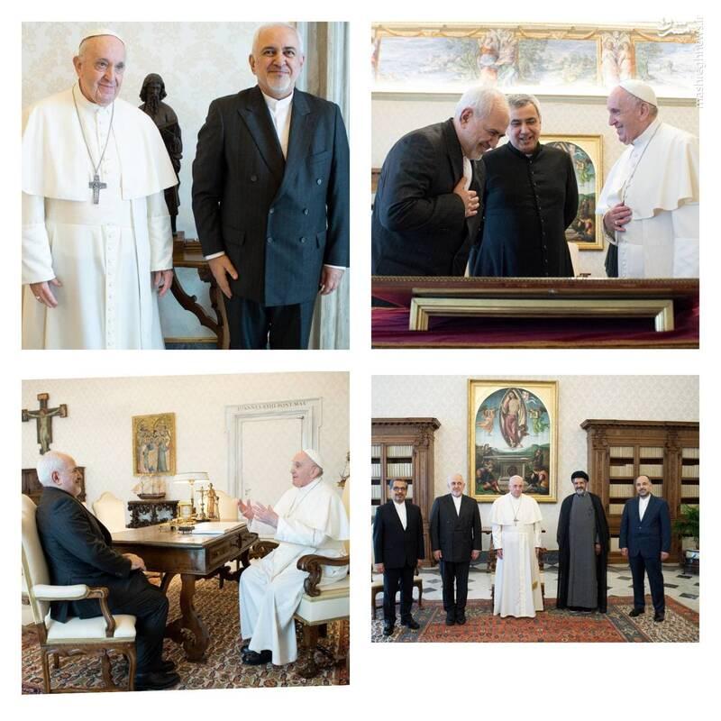 عکس/ دیدار ظریف با پاپ