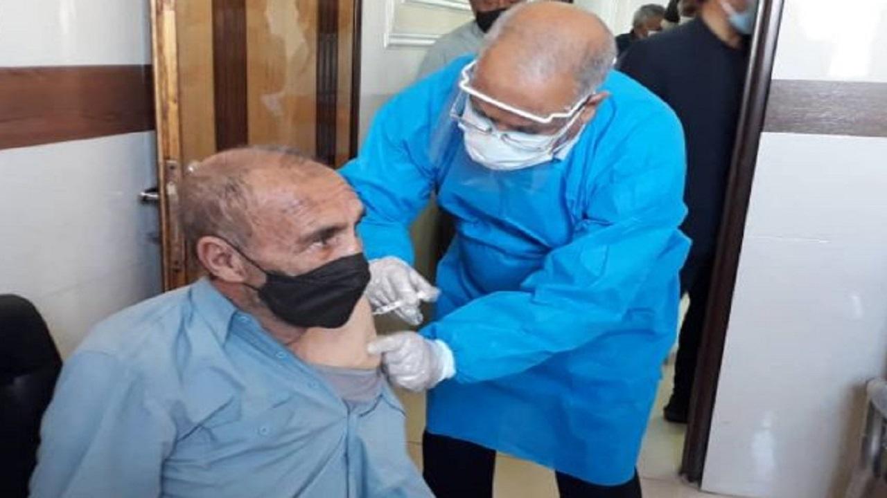 مراکز واکسیناسیون کرونا در چهارمحالوبختیاری