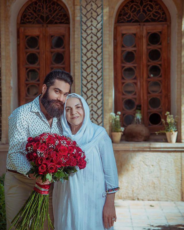 چهرهها/ دلبری علی زندوکیل برای مادرش
