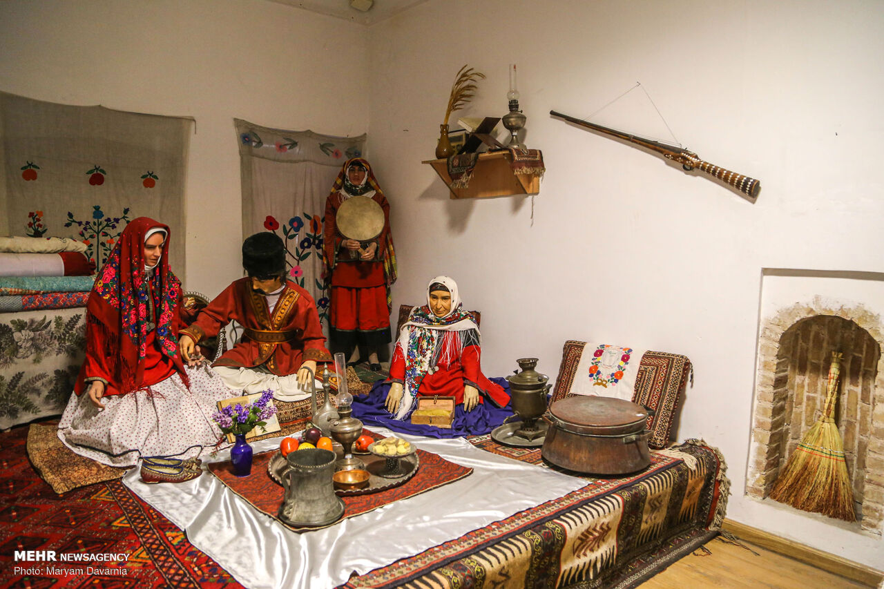 عکس/ موزه «عمارت مفخم» بجنورد