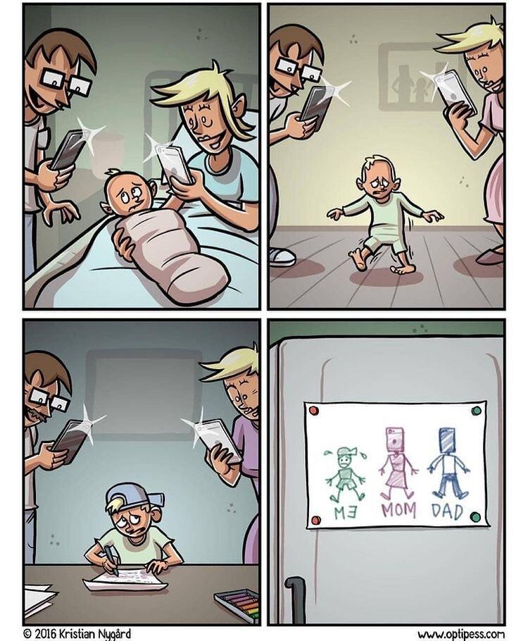 کاریکاتور/ این بچهها از والدین خود عاصی شدند!