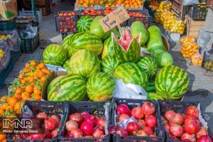 عکس/ اعلام قیمت میوه و ترهبار در بازارهای کوثر اصفهان