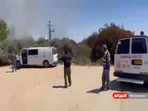 هلاکت ۲ صهیونیست در حمله موشکی مقاومت