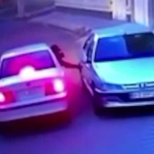 فیلم باورنکردنی لحظه سرقت پژو پارس در چند ثانیه