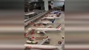 بزرگترین فرودگاه مینیاتوری دنیا