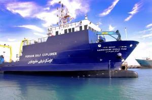 شناور کاوشگر خلیج فارس در بندر بوشهر مستقر شد