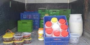 کشف و ضبط ۶.۹ تن فرآورده غیرقابل مصرف در کردستان