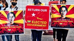آمریکا ارتش میانمار را تحریم کرد
