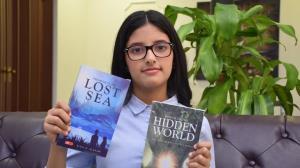 دختر عربستانی جوانترین نویسنده داستان در کتاب گینس