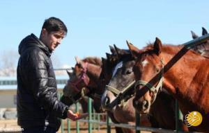 اسب جدید و میلیاردی سردار آزمون