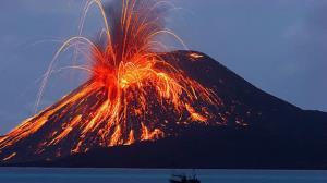 آتشفشانی که پس از ۶۰۰۰ سال از خواب بیدار شد