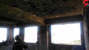 آتشسوزی گسترده در برج مسکونی اتوبان همت