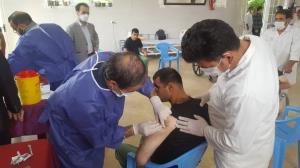 آغاز واکسیناسیون معلولین ساکن در مراکز بهزیستی قم
