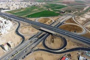 تقاطع غیر همسطح شهید سلیمانی کرمانشاه افتتاح شد