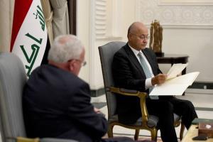 دیدار وزیر خارجه فلسطین با رئیس جمهور و نخست وزیر عراق