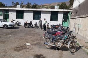 توقیف ۱۱ دستگاه موتورسیکلت متخلف در قاین