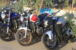 توقیف موتورسیکلتهای میلیاردی در لارستان