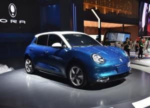 نگاهی بر خودروی الکتریکی بامزه چینی