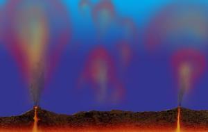 آتشفشانهای اقیانوسی قمر اروپا میتوانند شرایط حیات را فراهم کرده باشند
