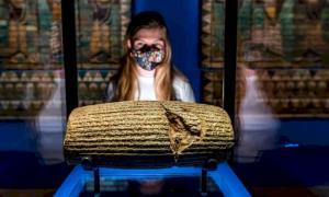 نمایشگاه آثار باشکوه باستانی ایران در موزه ویکتوریای لندن