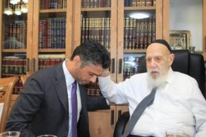 بیعت سفیر امارات در اسرائیل با رهبر صهیونیست های تندرو