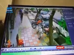 سرقت موبایل از مغازه رنگ فروشی