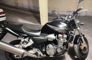 موتورسیکلت قاچاق ۸ میلیاردی در فسا توسط پلیس کشف شد