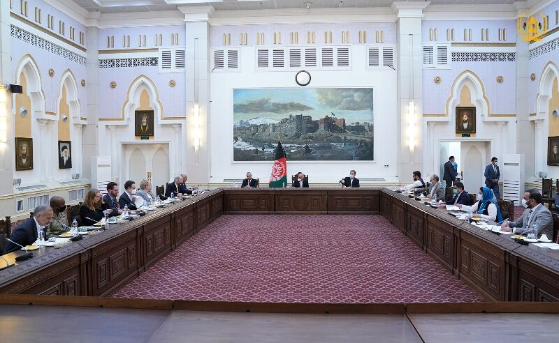 آغاز دور جدید مذاکرات خلیلزاد با مقامات افغانستان