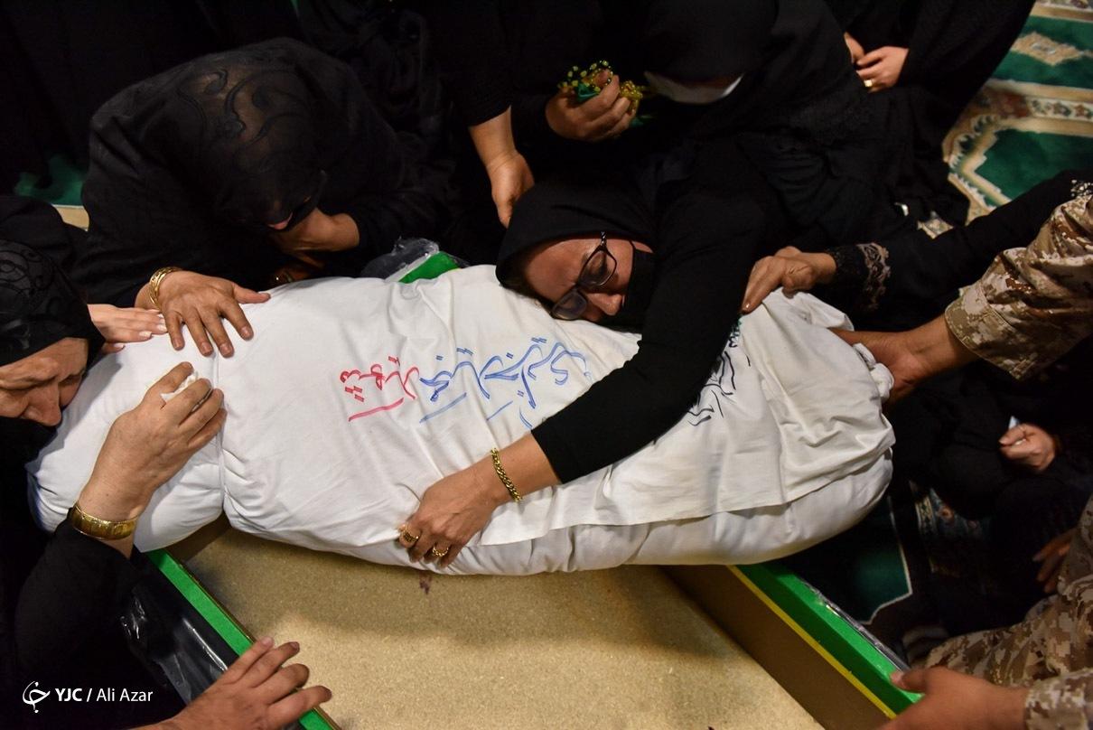 عکس/ تشییع و تدفین شهید «مجید جزایری»