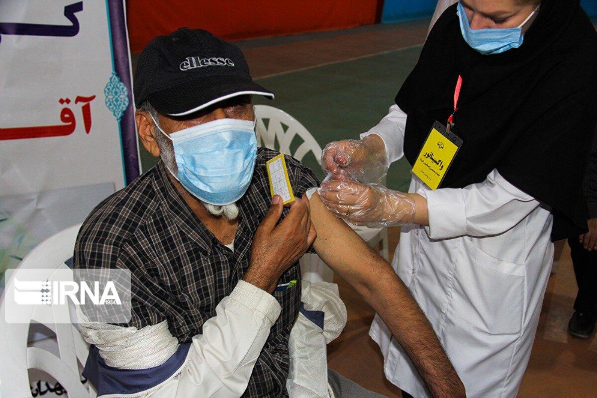 ۳۵۷۵ شهروند خندابی علیه کرونا واکسینه شدند