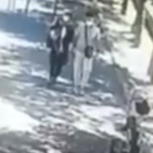 فیلم لحظه سرقت توسط زن و مرد جوان در شرق تهران