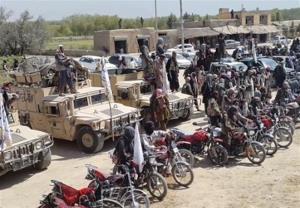 حمله انتحاری طالبان در ولایت بلخ؛ فرماندهی پلیس در فاریاب محاصره شد