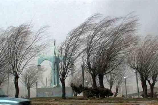 بارش پراکنده و وزش باد در برخی مناطق
