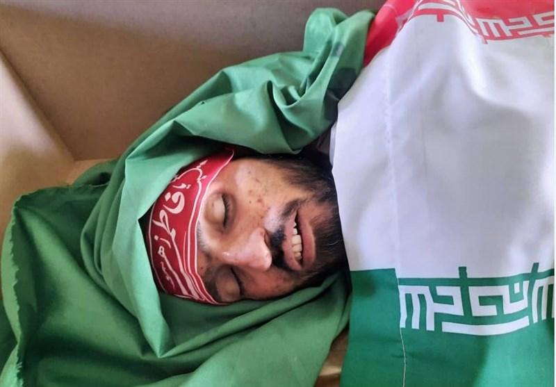 عکس/ مراسم وداع با پیکر مطهر سردار مجیدی شهید مدافع حرم در اراک