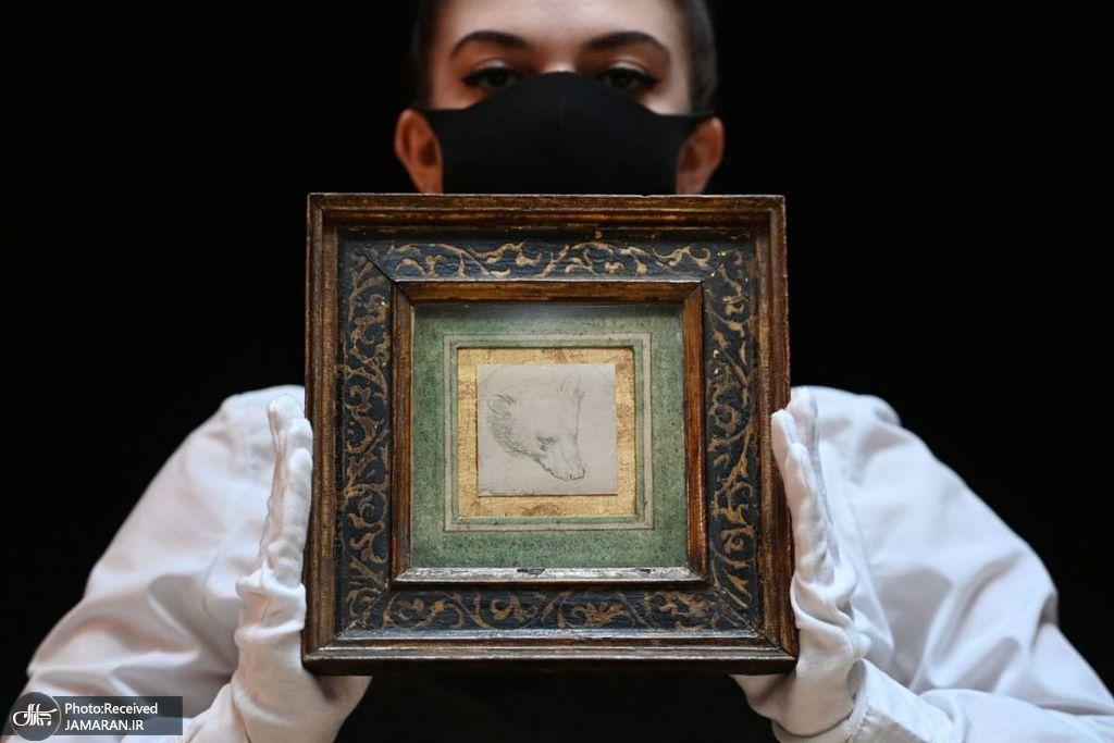 حراج نقاشی اثر لئوناردو داوینچی