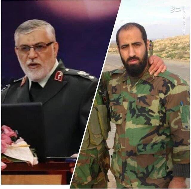 عکس/ آقازاده شهید؛ فرزند رئیس سابق حفاظت اطلاعات ناجا