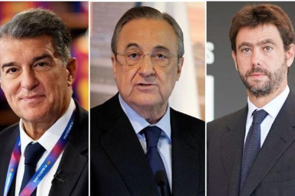 ایستادگی رئال، بارسلونا و یوونتوس مقابل یوفا