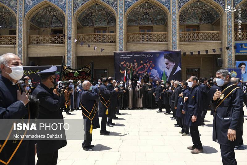 عزاداری شهادت امام جعفر صادق(ع) در شیراز