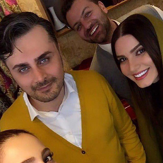 چهرهها/ اولین تصویر از متین ستوده تازه عروس سینمای ایران در کنار همسرش