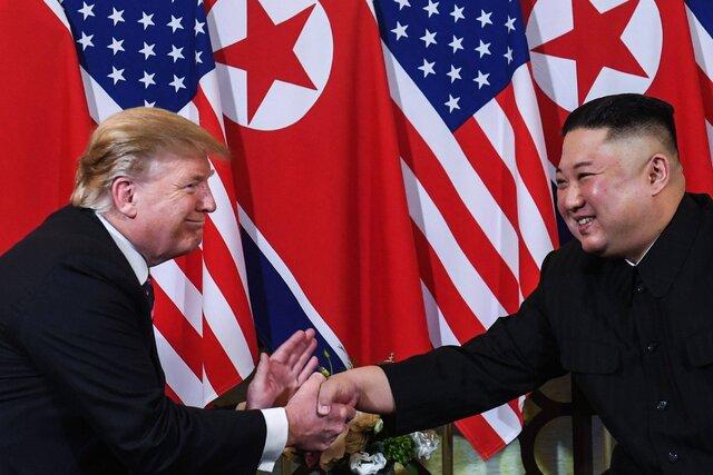 ترامپ: بر خلاف من بایدن با کیم جونگ اون کنار نمیآید