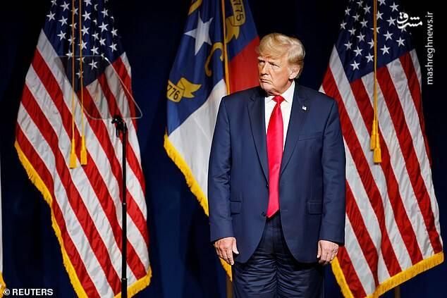 عکس/ شلوار ترامپ سوژه رسانه ها شد!