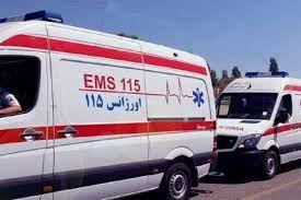 نجات مرد ۴۷ ساله دارابی با تلاش تکنسینهای اورژانس ۱۱۵