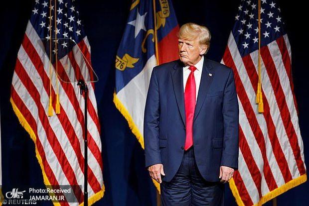وقتی ترامپ شلوارش را برعکس می پوشد!