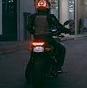 دامسیاهِ مرد موتورسوار برای زنان راننده