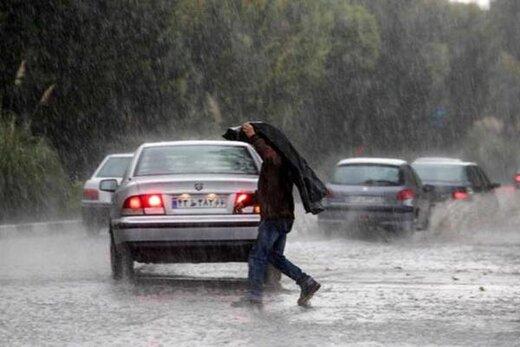 هشدار زرد هواشناسی؛ رگبار و رعدوبرق در سه استان